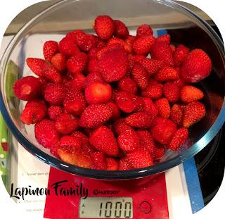 glace fraises maison sans sorbetiere