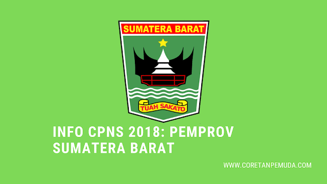 Pengumuman Hasil Tes CAT SKD Pemprov Sumatera Barat CPNS 2018 - BKD Sumbar