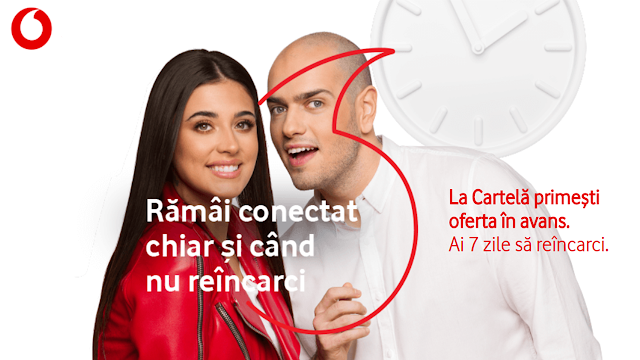 Vodafone lansează Oferta în avans, un serviciu gratuit pentru utilizatorii de pre-pay