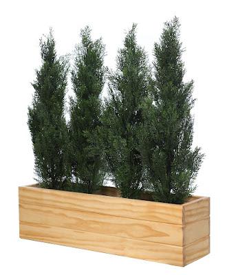 Jardineras seto planta artificial exterior decoraci n - Plantas jardineras exterior ...