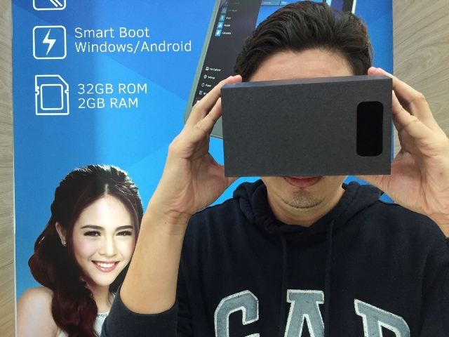 Cherry Mobile Touch XL 2 and VR Headset Bundle