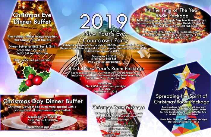 Park Inn by Radisson Davao Christmas 2018 offerings!