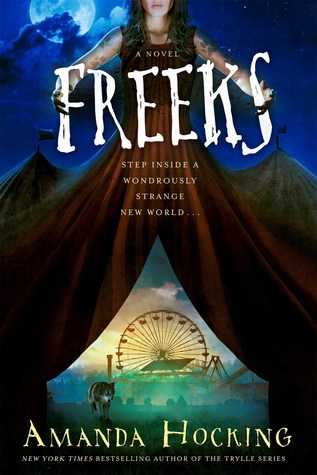 Freeks by Amanda Hocking book cover