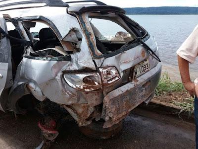 Tragédia: Acidente faz vítima mãe e filho