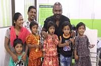 Raghawa Lawrence Adopts 4 Girl Children !