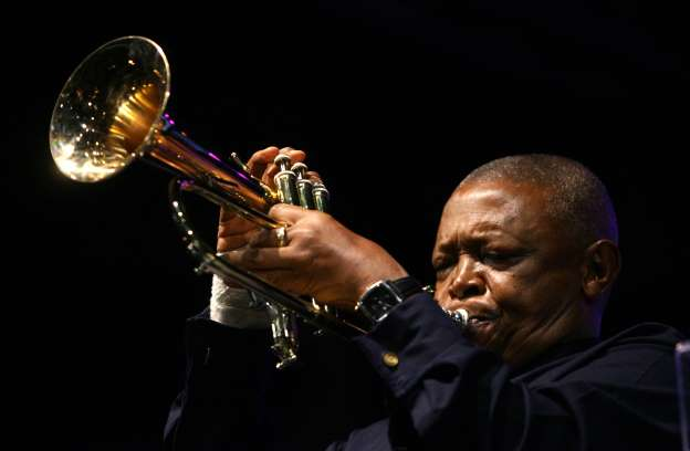 South African jazz legend Hugh Masekela has died, aged 78.