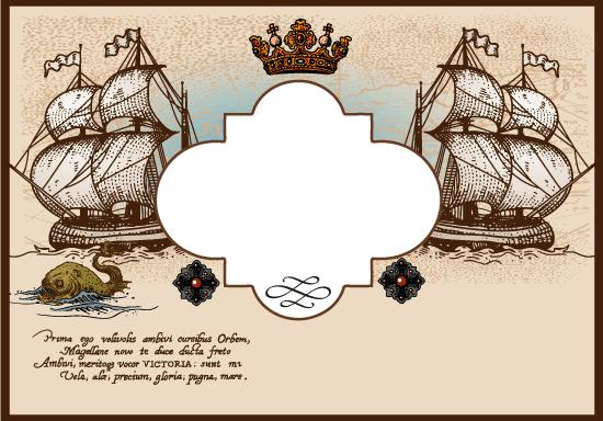 Cartel del día de la Hispanidad