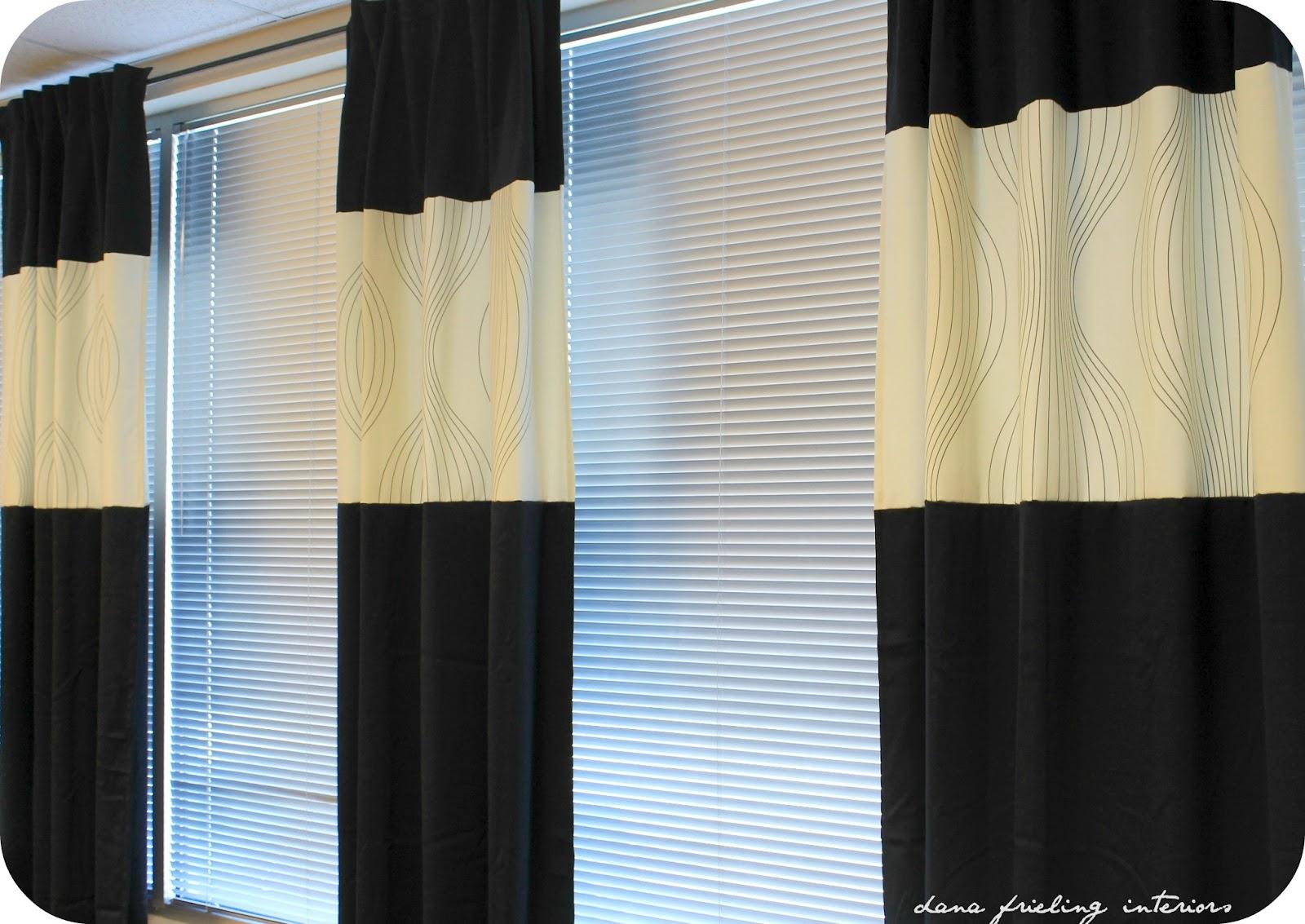 Make Them Wonder Ikea curtains turned custom