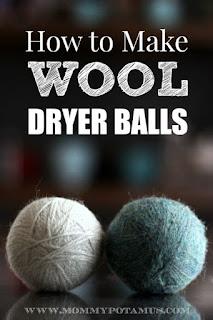Homemade Wool Dryer Balls