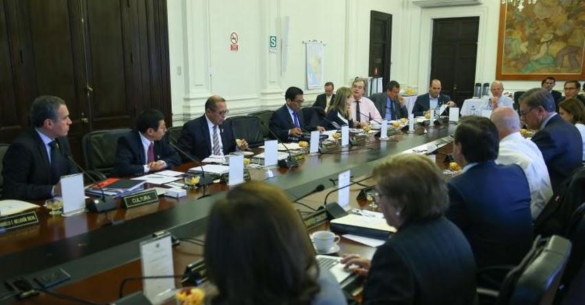 Hoy juramentan nuevos ministros de estado a las 16:00 horas en la sede de la PCM