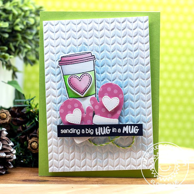 Sunny Studio Stamps: Coffee Lovers Fall & Winter Blog Hop with Warm & Cozy Hot Cocoa Card by Eloise Blue.