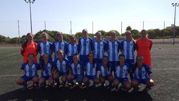 Málaga, entrenamiento y inauguración vitrina del fútbol femenino