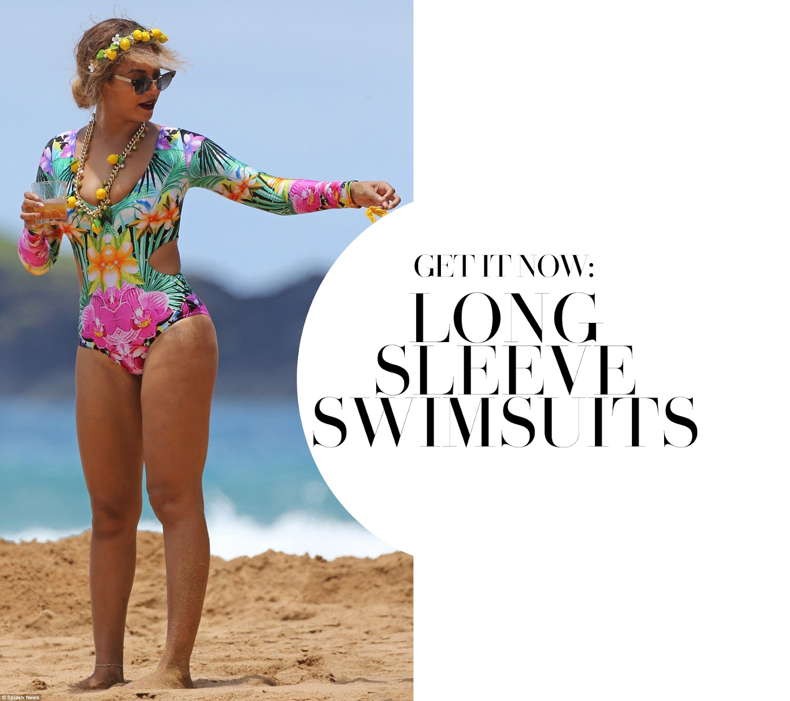 Get It Now: Long Sleeve Swimsuits