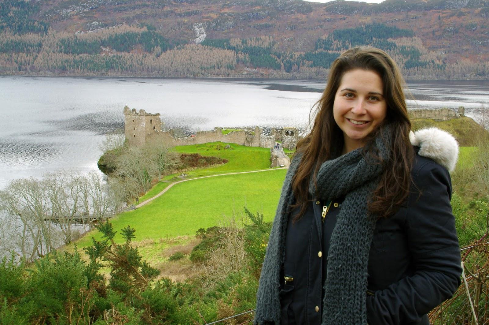 Urquhart Castle Scottish Highlands