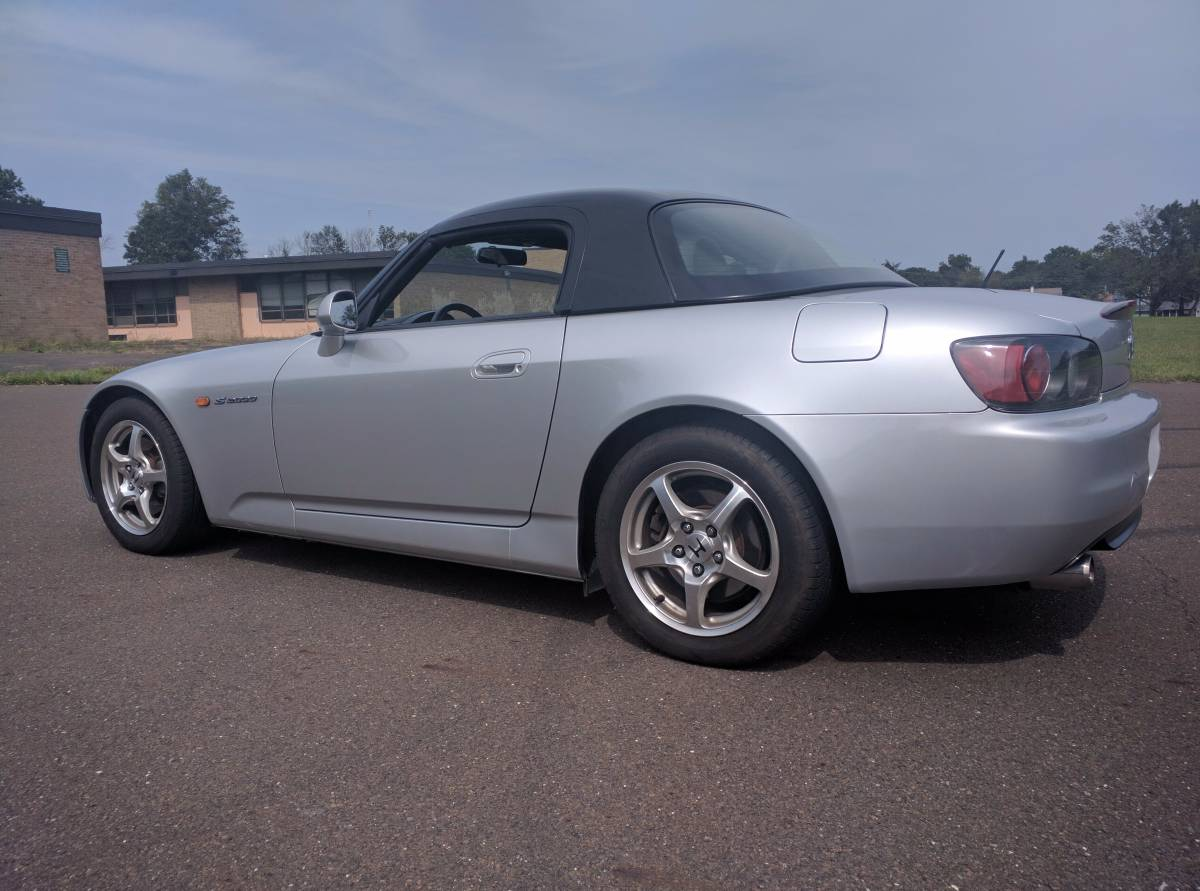 Low Miles and Hardtop Included: 2002 Honda S2000