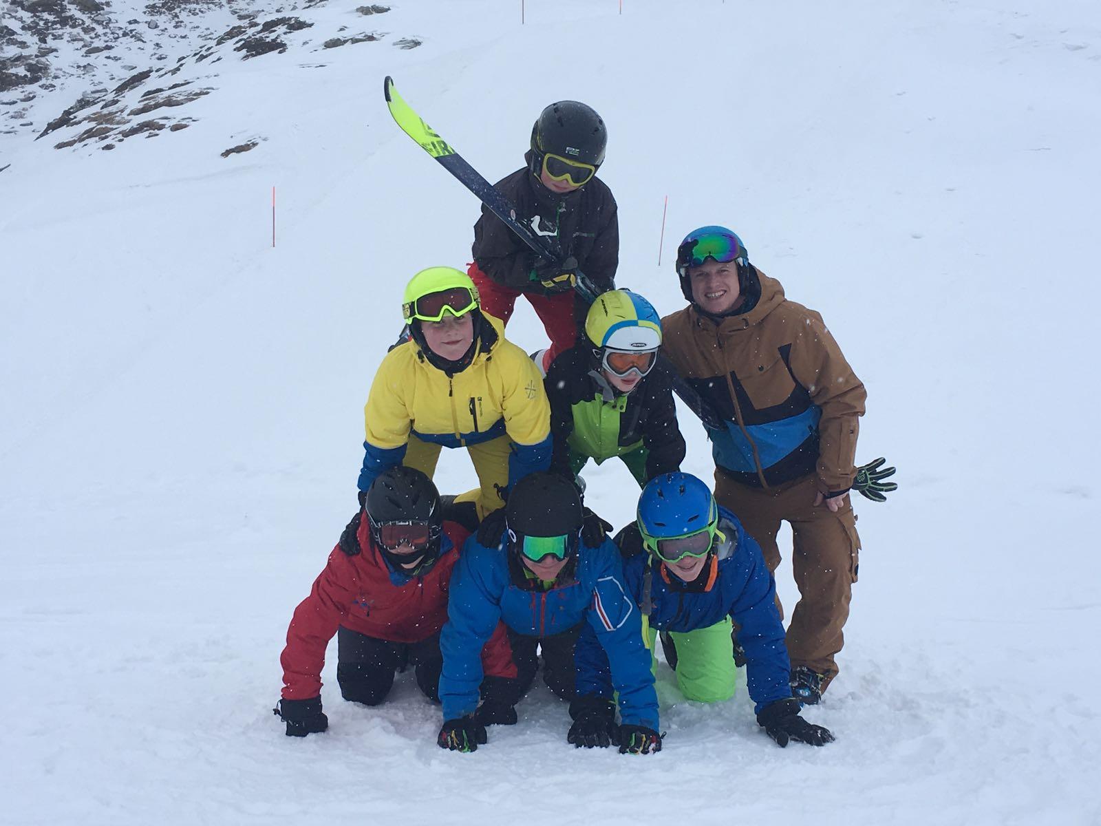Kletterausrüstung Chur : Skilager tag 2 schule walterswil