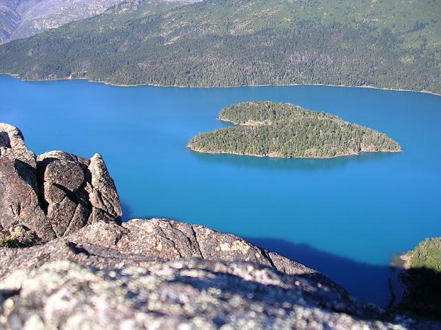 Lago Mascardi em Bariloche