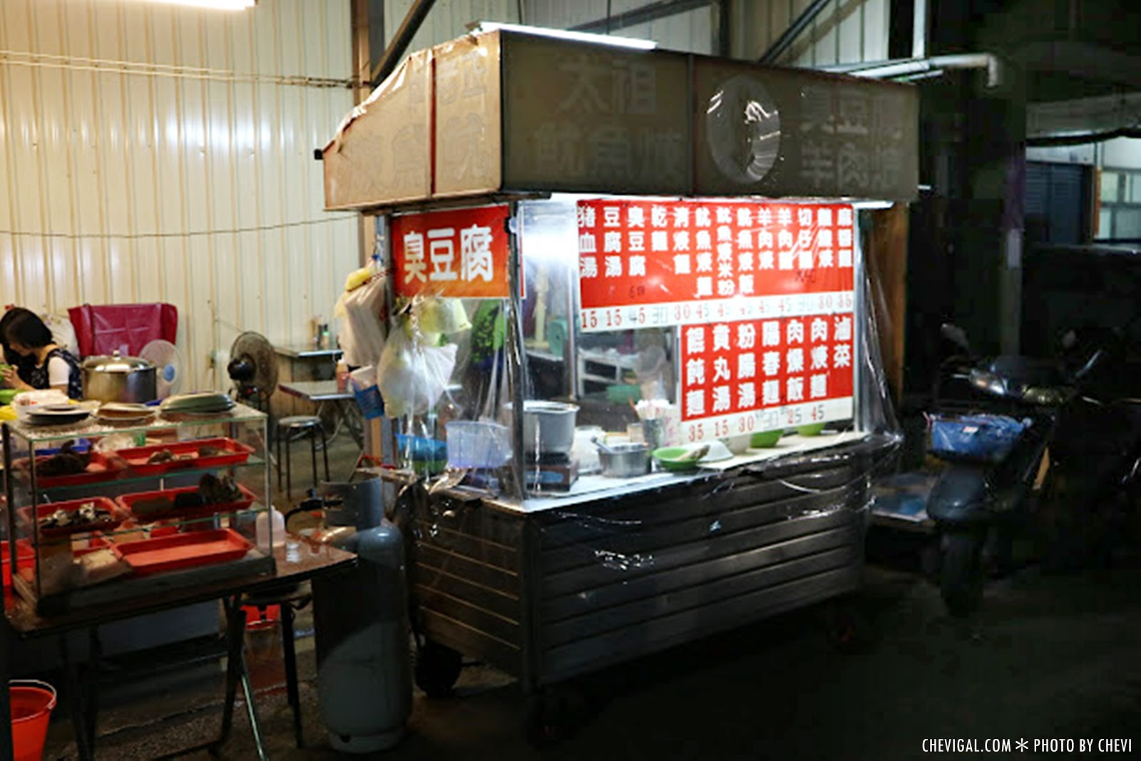 IMG 0645 - 台中烏日│正老牌太祖魷魚羹。隱藏多時的在地美味。臭豆腐終於強勢回歸啦!