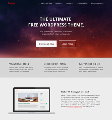 10 most beautiful free wordpress theme 2017