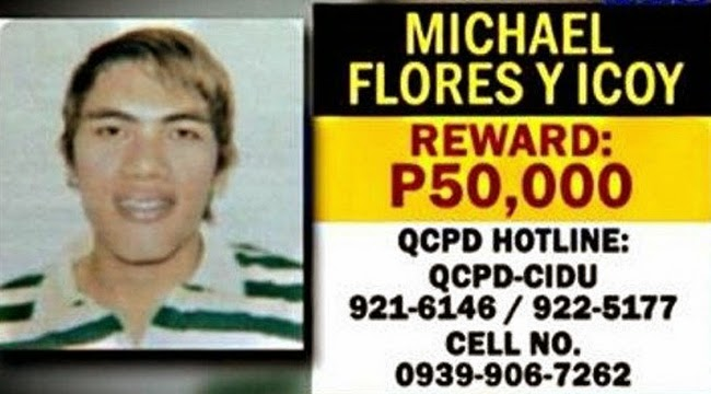 Michael Flores Suspect for Cherie Pie Picache Death Now on Police Custody