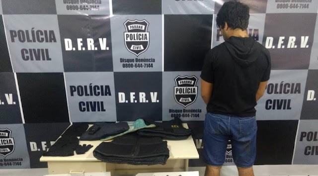 Homem com dois mandatos de prisão é preso em Colombo