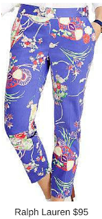 Sydney Fashion Hunter - She Wears The Pants - Ralph Lauren Floral Women's Work Pants