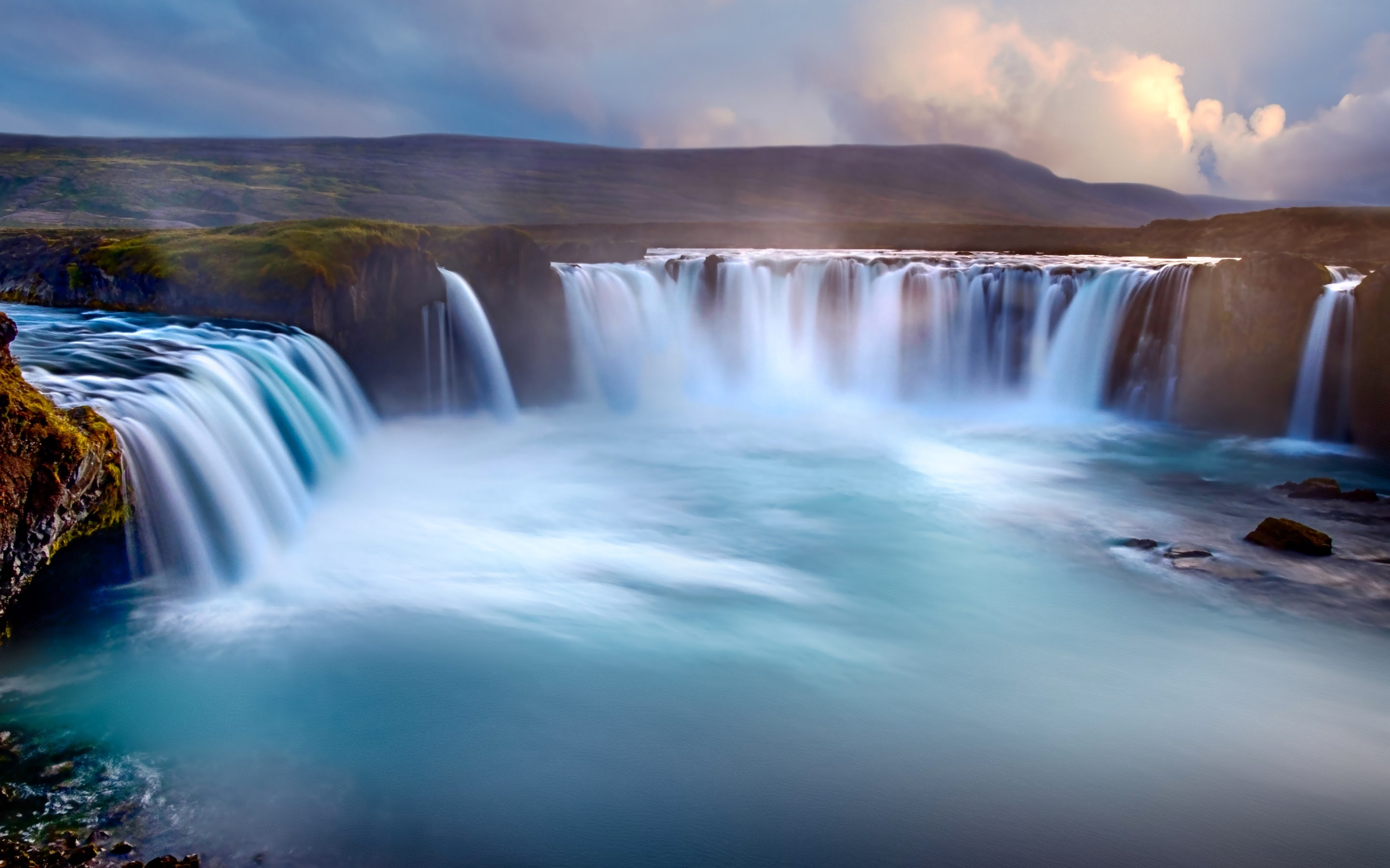 wallpaper godafoss iceland free - photo #1