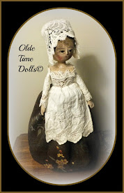 Wooden Queen Anne Doll