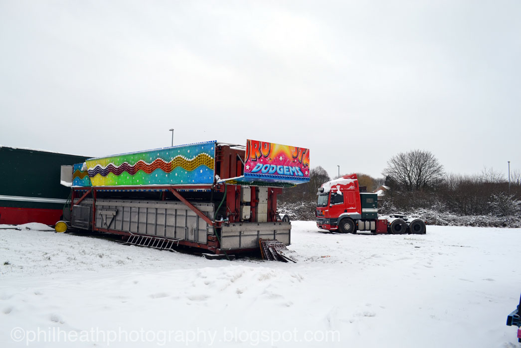 winter picture funfair