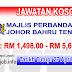 Job Vacancy at MPJBT - Majlis Perbandaran Johor Bahru Tengah