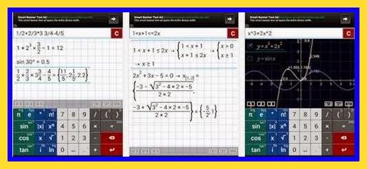 Aplikasi Kalkulator Dengan Rumus Penghitung Matematika,Fisika,Kimia