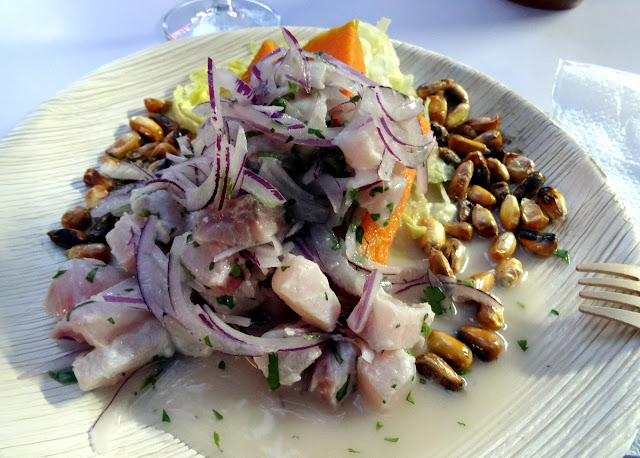 Ceviche - Meet & Eat street food market in Rudolfplatz in Cologne, Germany
