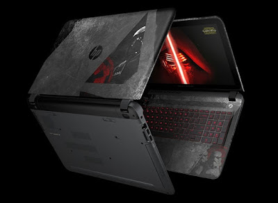 In the Quest for the Fun Side with the HP Star Wars Special Edition Notebook