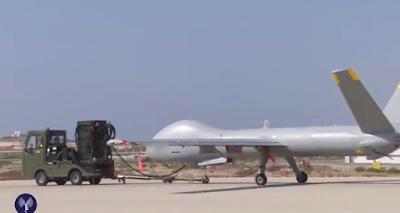 Israel moderniza su drone Hermes 900