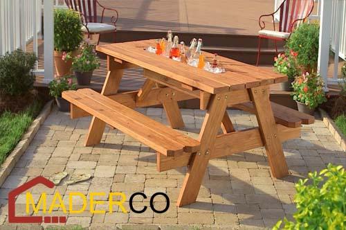 Como hacer una banca de madera para jardin maderco peru for Bancas de jardin de madera