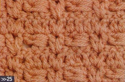 Patrón #1098: Punto Cerrado a Crochet