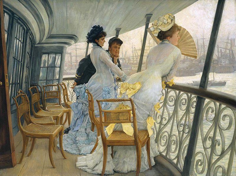 HAPPY BIRTHDAY French realist, impressionist painter James Tissot