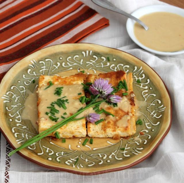 tofu grilled sabra hummus