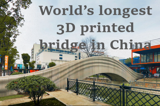 World's longest 3D printed bridge in China