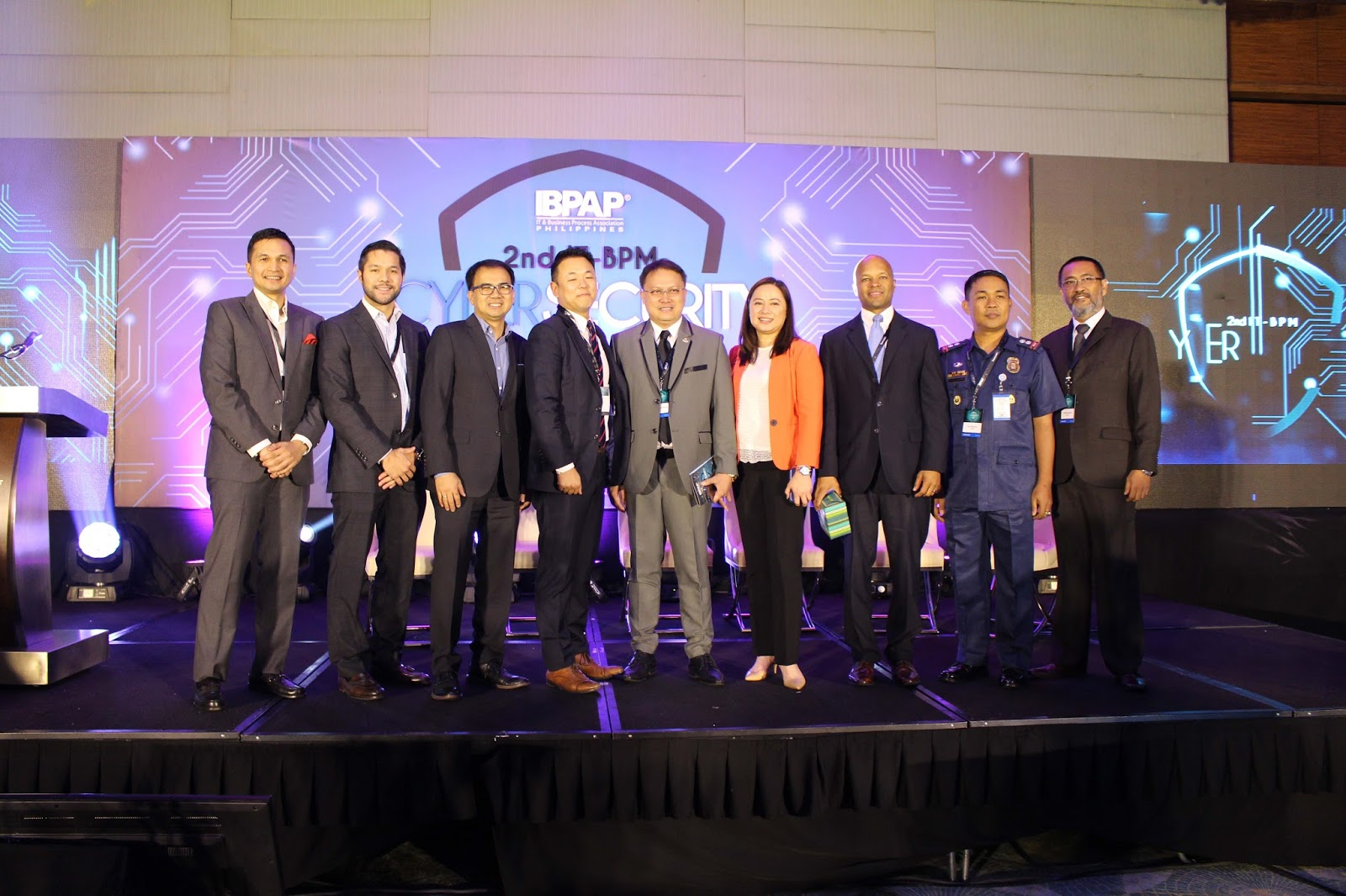 ePLDT, PLDT Enterprise lead discussion on business resiliency at the 2nd IBPAP Cyber Security Summit 2017