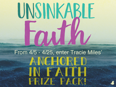 Anchored in Faith Prize Pack Giveaway