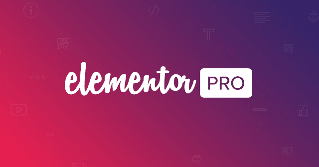 Elementor Pro - Live Page Builder For WordPress