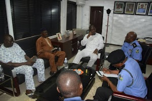 Police Meets OPC and Requests for Their Supports Over Manipulation Of Cultists, Kidnappers in Ikorodu(Photos)