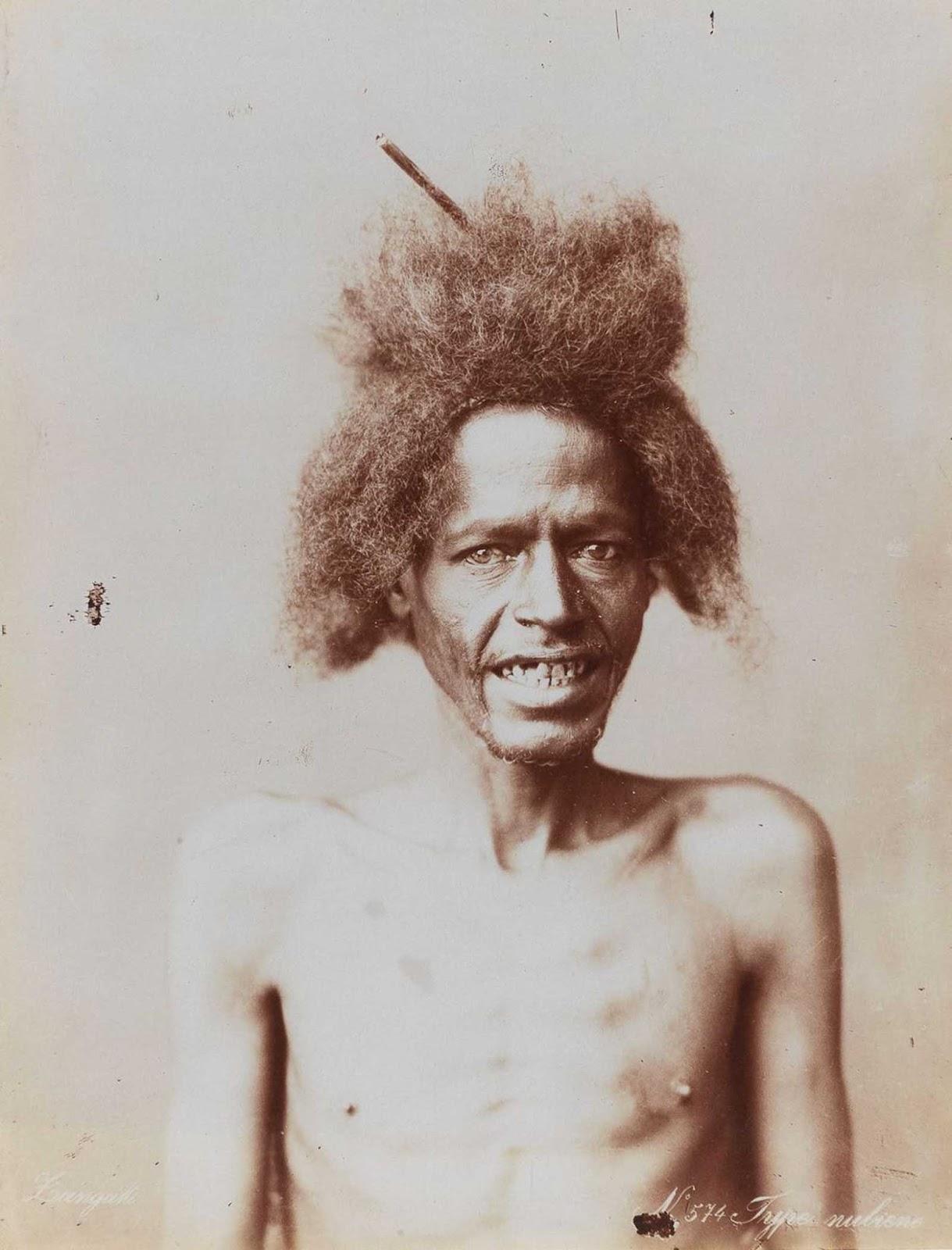 Nubian man.