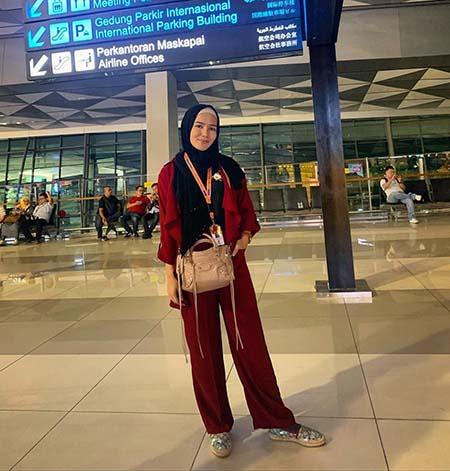 Masayu Clara Pakai Hijab 8
