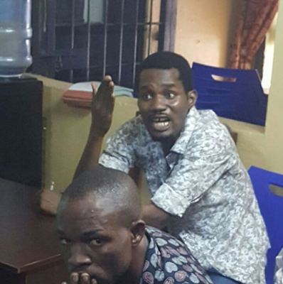 d Again, Seun Egbegbe Arrested For Trying To Dupe Mallam Of N10m In Lagos (Pics, Video)