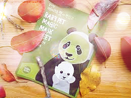 Holika Holika Baby Pet Sheet Mask review