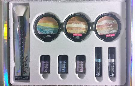 wet n wild Unicorn Glow products
