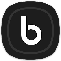 Delux UX Black Amoled S8 Icon Pack Apk