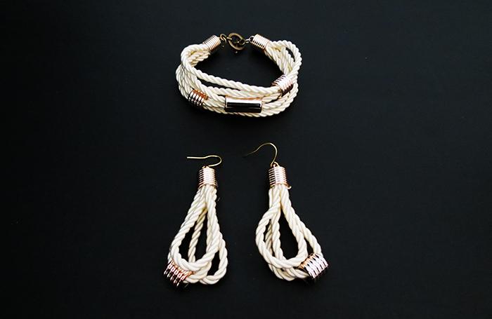 How to make stylish rope jewelry